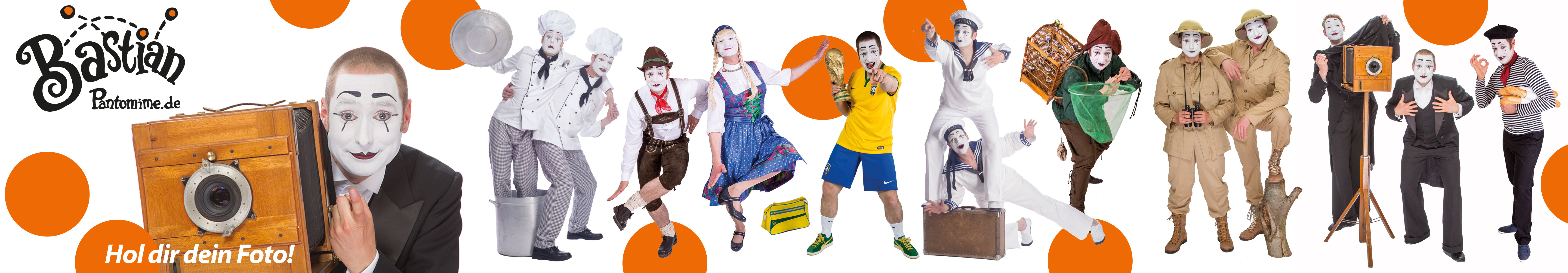 Pantomime Bastian´s Foto Walk-Act Bildergalerien