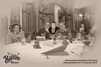 MZLA Weihnachtsfeier 2012, Altenburg