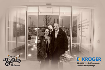 130322 Kröger Eröffnung Gesundheitspassage Massen, Niederlausitz