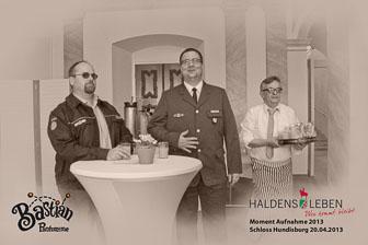 Stadt Haldensleben Moment Aufnahme Schloss Hundisburg