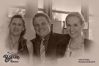 Hochzeit Julia und Tobias