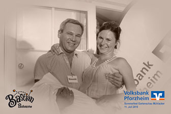 Sommerfest Gartenschau Mühlacker - Volksbank Pforzheim