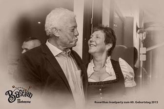 Roswithas Inselparty zum 60ten Geburtstag