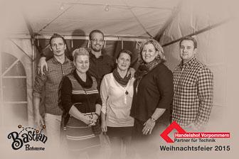 Handelshof Vorpommern Weihnachtsfeier 2015