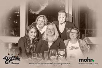 Weihnachtsfeier 2016, Modehaus Mohr in Dollern