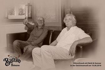Klönschnack mit Netti & Gunnar, Deichmamsell in Hamburg-Billwerder